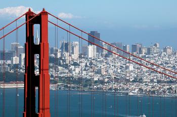 San Francisco Bridge and Cityscape