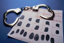 Arrest and Finger Printing